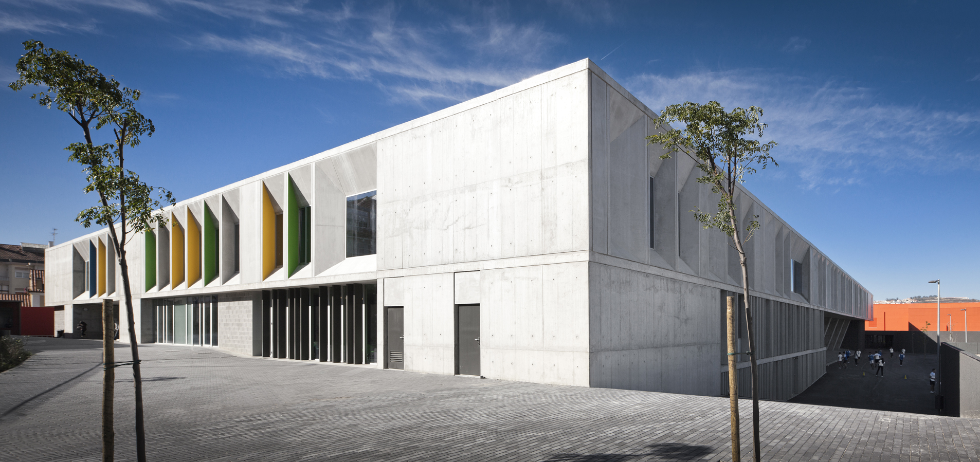 Building of the Year 2014, Educational Architecture: Braamcamp Freire / CVDB arquitectos