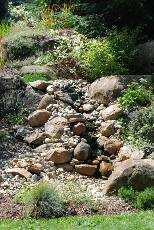 dry riverbed natural