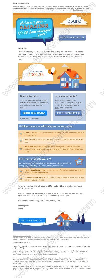 Insurance Email Design Inspiration Email Design Insurance