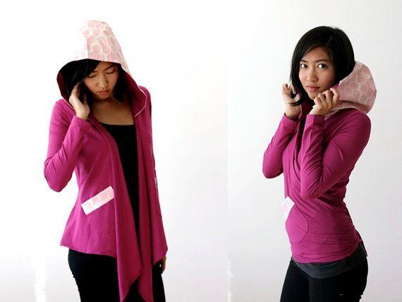 FREE SHIP in MAY 10% Off Organic Yoga Wrap Sweater by Kulayan
