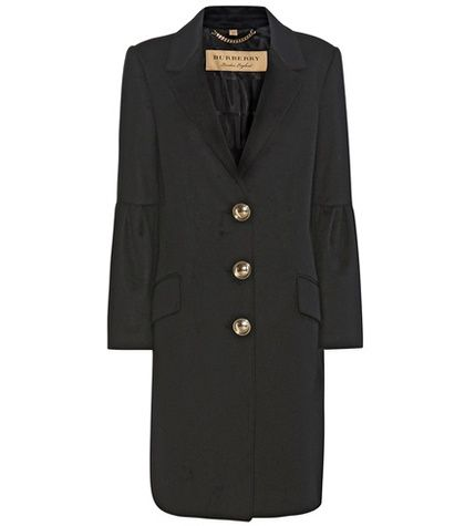Burberry Samborne Wool And Cashmere Coat For Spring-Summer 2017