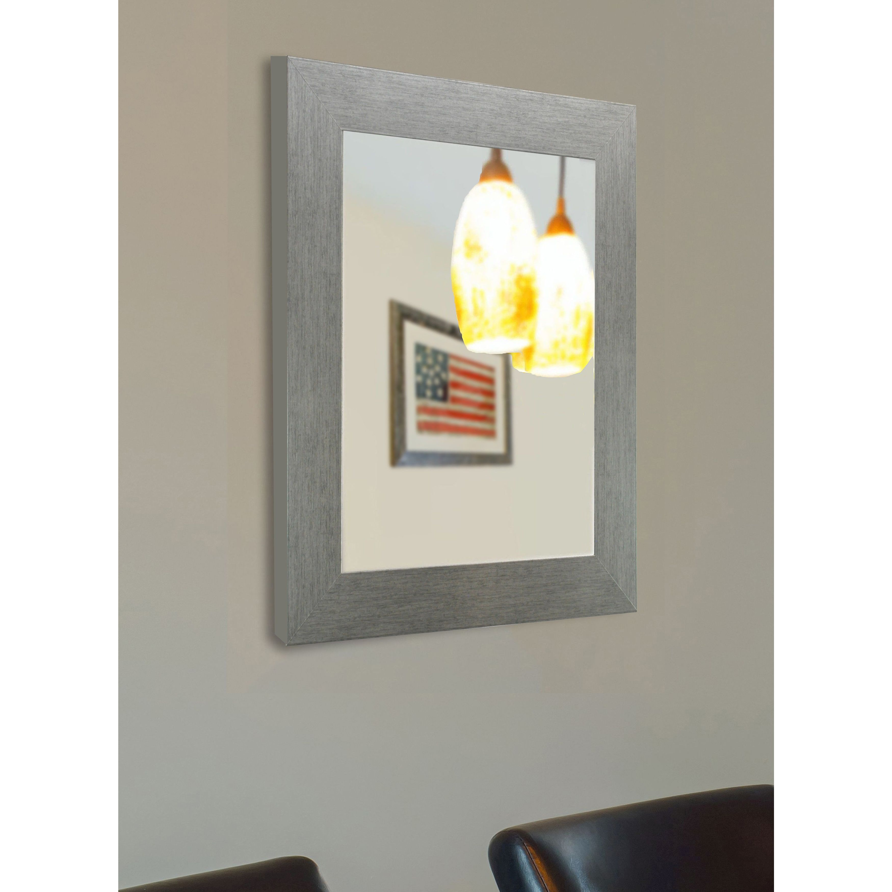 American made rayne yukon silver vanity wall mirror 40 x 60 american made rayne yukon silver vanity wall mirror 40 x 60 amipublicfo Image collections