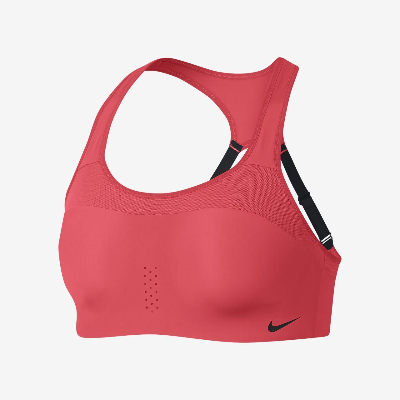 Nike Alpha Women S High Support Sports Bra High Support Sports Bra Sports Bra Red Sports Bra