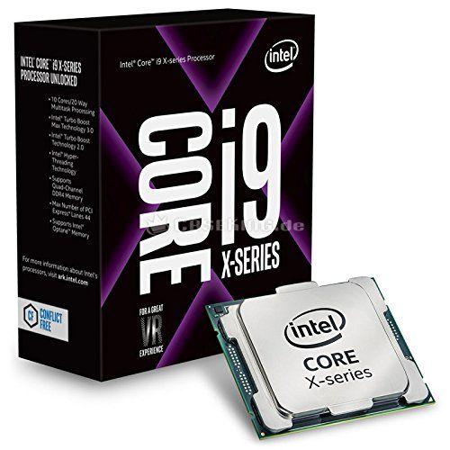 Intel core i9 7900x processor 10 cores 20 threads socket lga