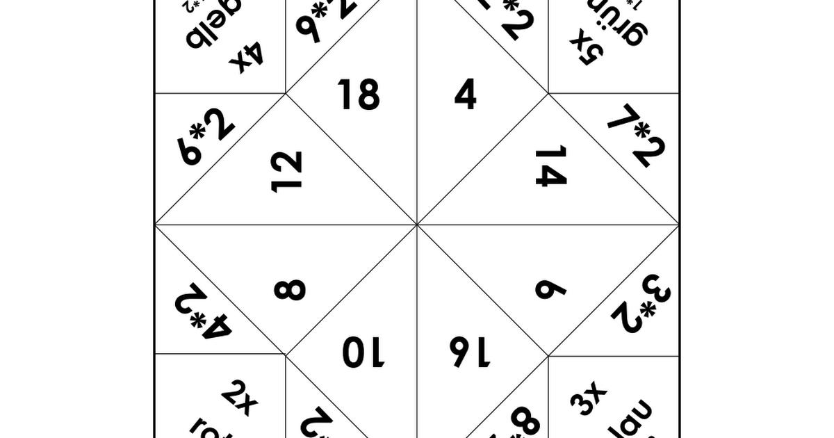 Einmaleins_Himmel_und Hoelle.pdf | 2.o. | Pinterest | Himmel und ...