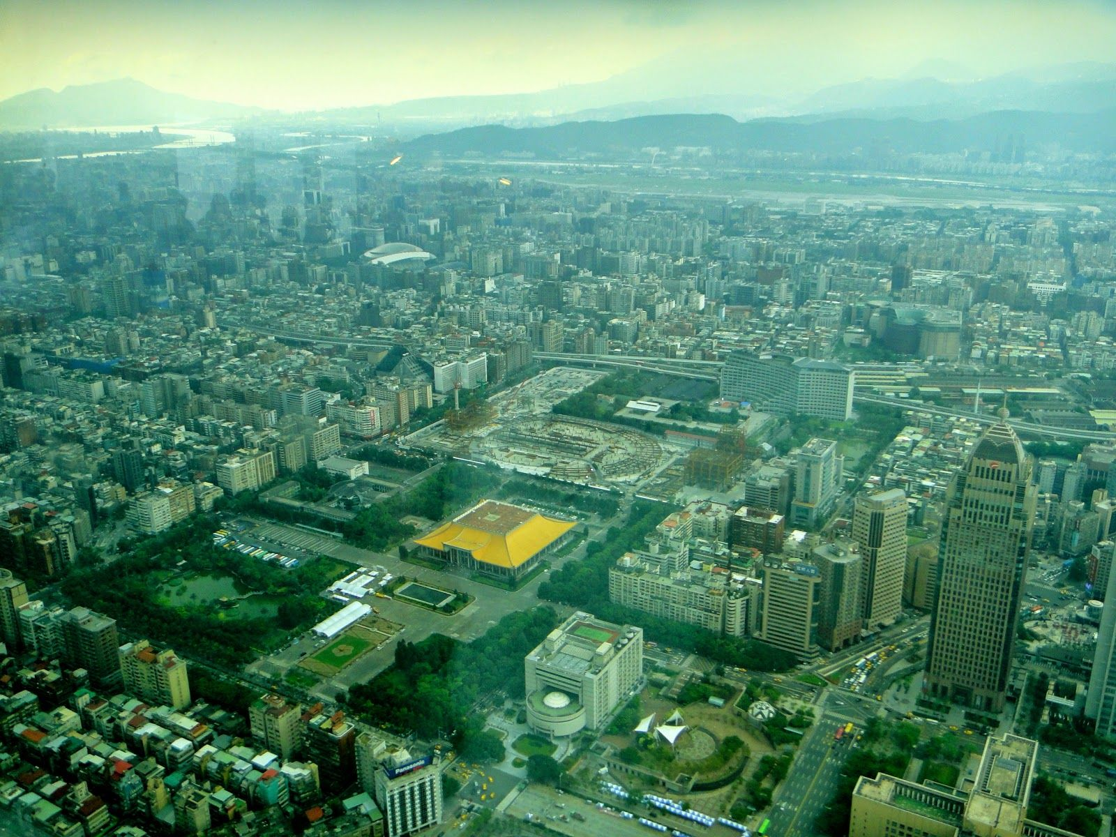 Cloudy Day at Taipei 101 Taiwan