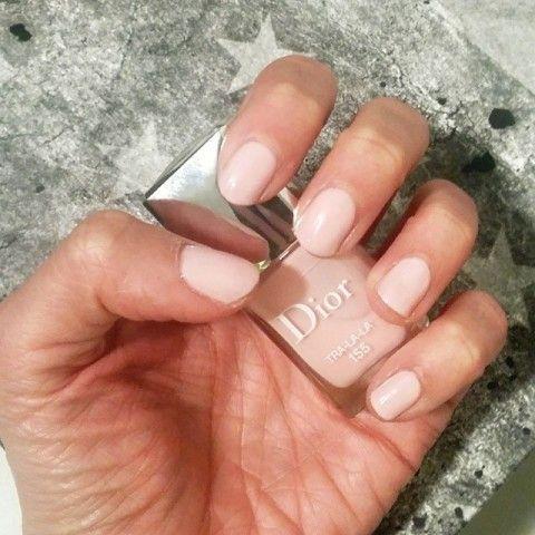 Dior Nail Polish in Tra La La.