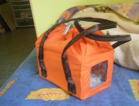 Simple guinea pig carrier