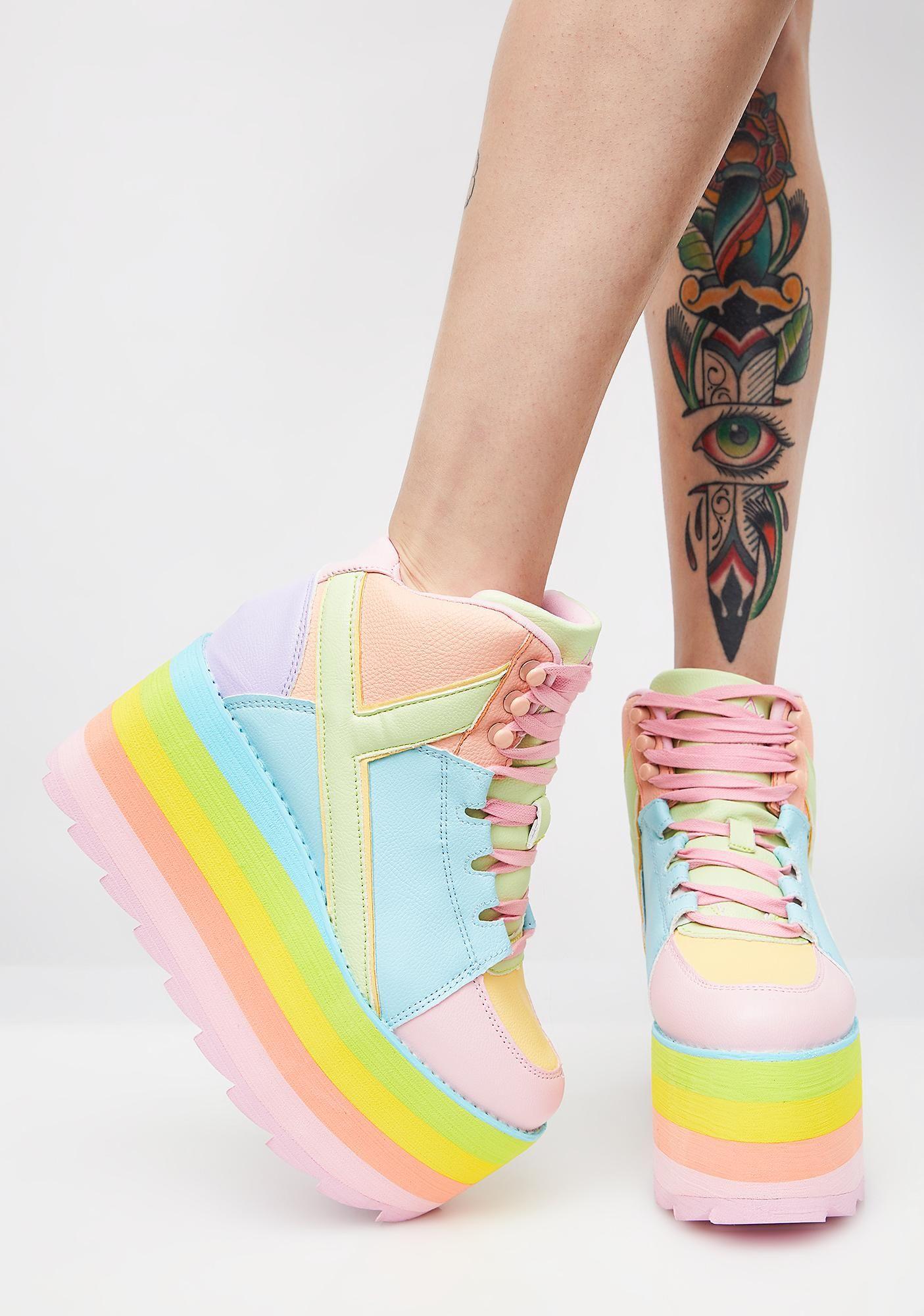 Pre)Skoolin' U Platform Qozmo Sneakers