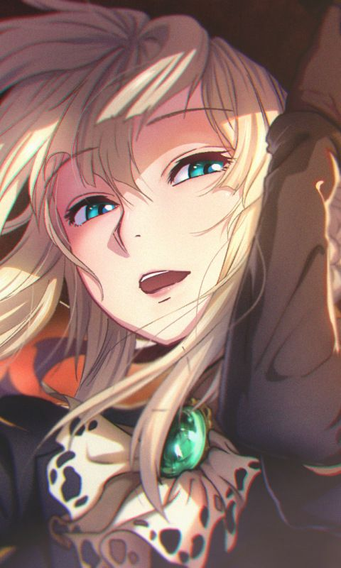 Violet Is Beautiful Mostly Her Eyes Violet Evergarden Anime