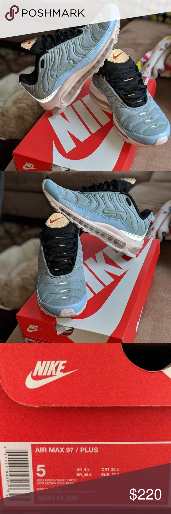 separation shoes 3f96f 717b4 Nike Air Max 97 / Plus Layer Cake Never Used. NWT. Nike ...