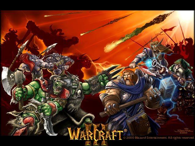 Warcraft Orcs Vs Humans Warcraft Art Warcraft Iii Warcraft