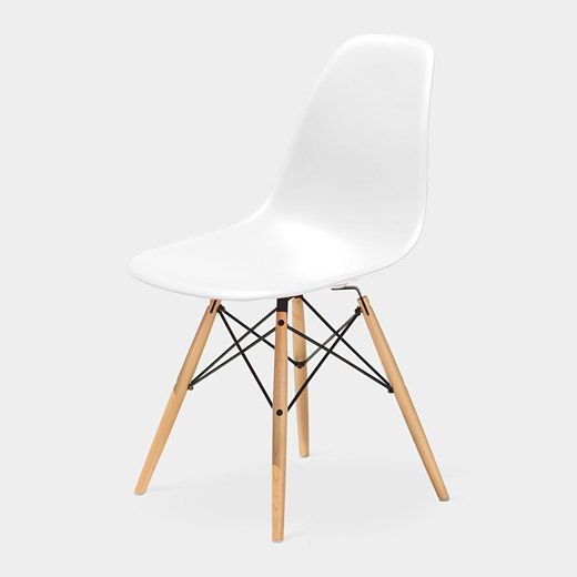 Eames Molded Plastic Side Chair With Dowel Leg Base Dsw Charles Ray Eames 1951 Plastic Chair Design Eames Molded Plastic Side Chair Molded Plastic Chairs