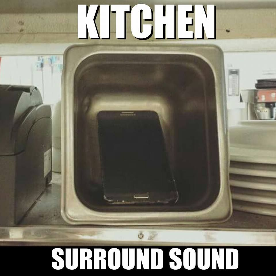 Restaurant Kitchen Humor kitchen surround sound | chef & restaurant humor | pinterest
