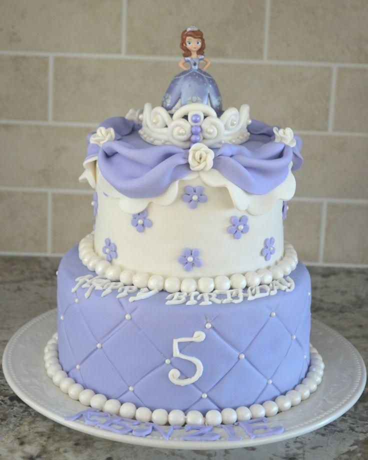 Imagenes De Bizcochos De Sofia The First Sofia The First Cake