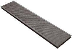 lame de terrasse composite grise l 3 m x l 14 5 cm x p 21 mm. Black Bedroom Furniture Sets. Home Design Ideas