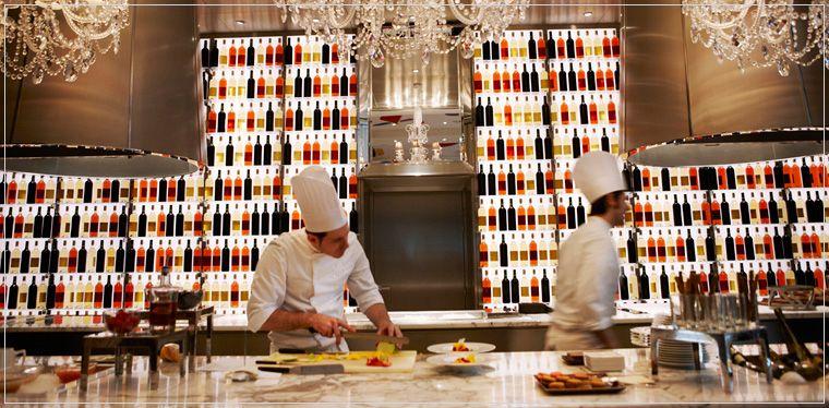 La cuisine - Le Royal Monceau | Déco - BAR | Pinterest | Fine dining on