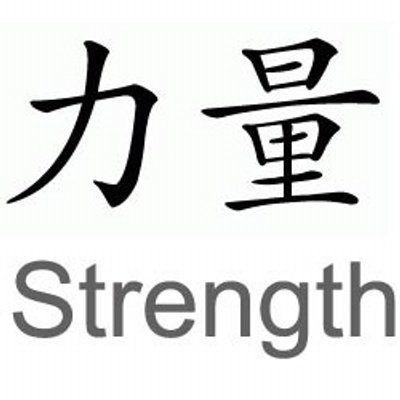 Inner Strength Symbol Tattoo Design Tattoos Pinterest Strength