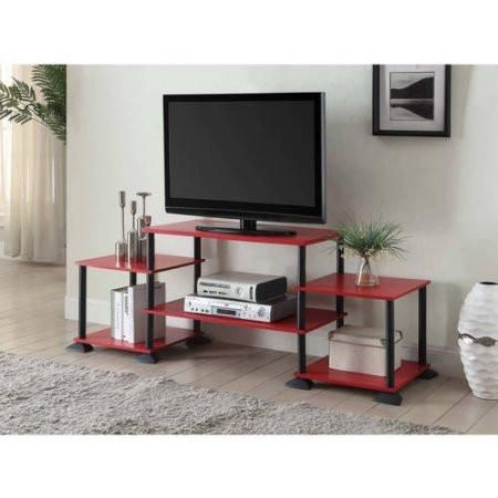 Red, Yellow, Blue, 3-Cube Entertainment Center TV Stand Console for ...