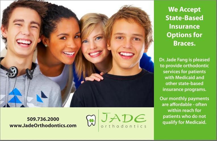 At Jade Orthodontics, we take state-based insurance options