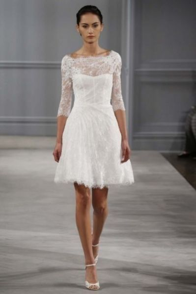 Die 101 atemberaubendsten, kurzen Brautkleider und ...