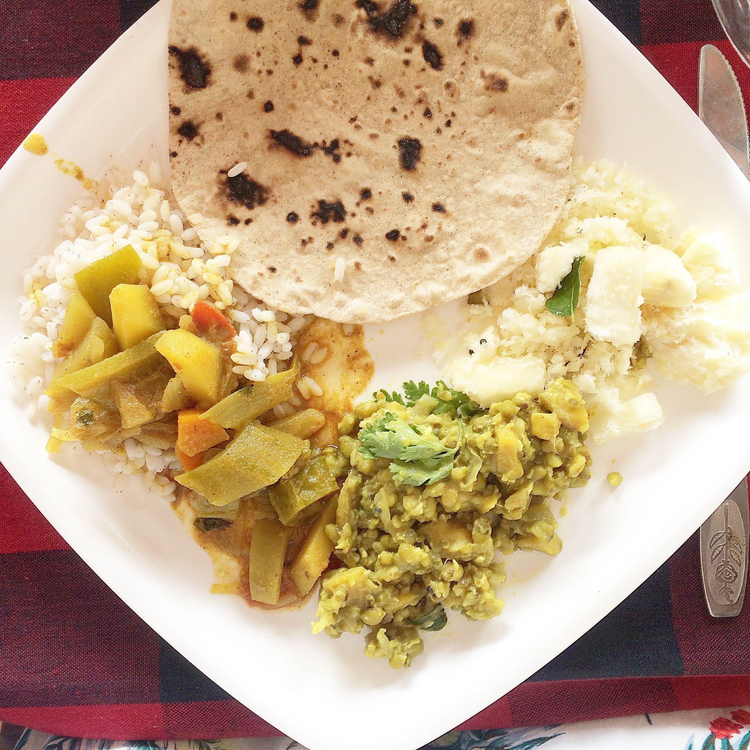 Cuisine ayurvedique chapathi riz lentilles l gumes sant curry leaves food et curry - Recette cuisine ayurvedique ...