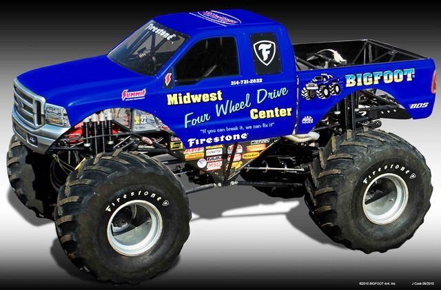Monster Trucks Monster Trucks Trucks Sport Truck Bigfoot monster truck wallpaper