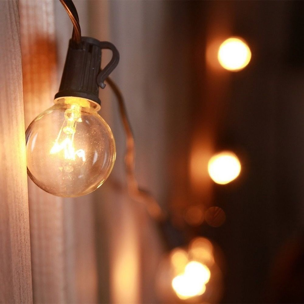 Garden LED Lights Outdoor Patio Waterproof Lawn Globe String L&s Set Of 25 | Garden u0026 : globe string lights outdoor - www.canuckmediamonitor.org