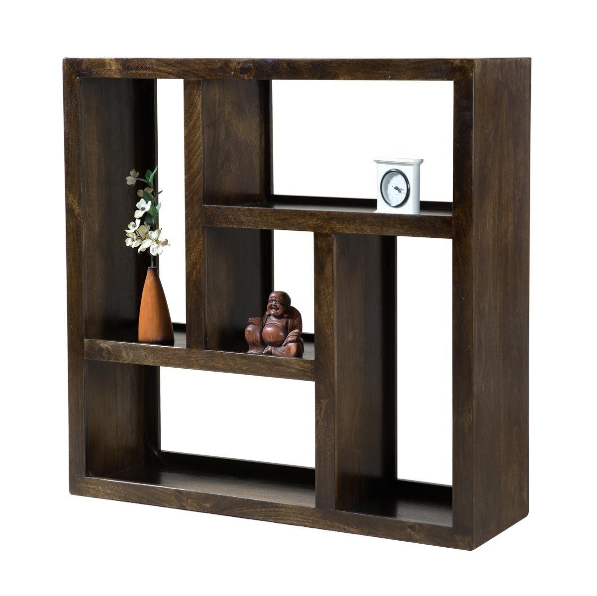 Mango Low Open Bookcase Shelving Unit