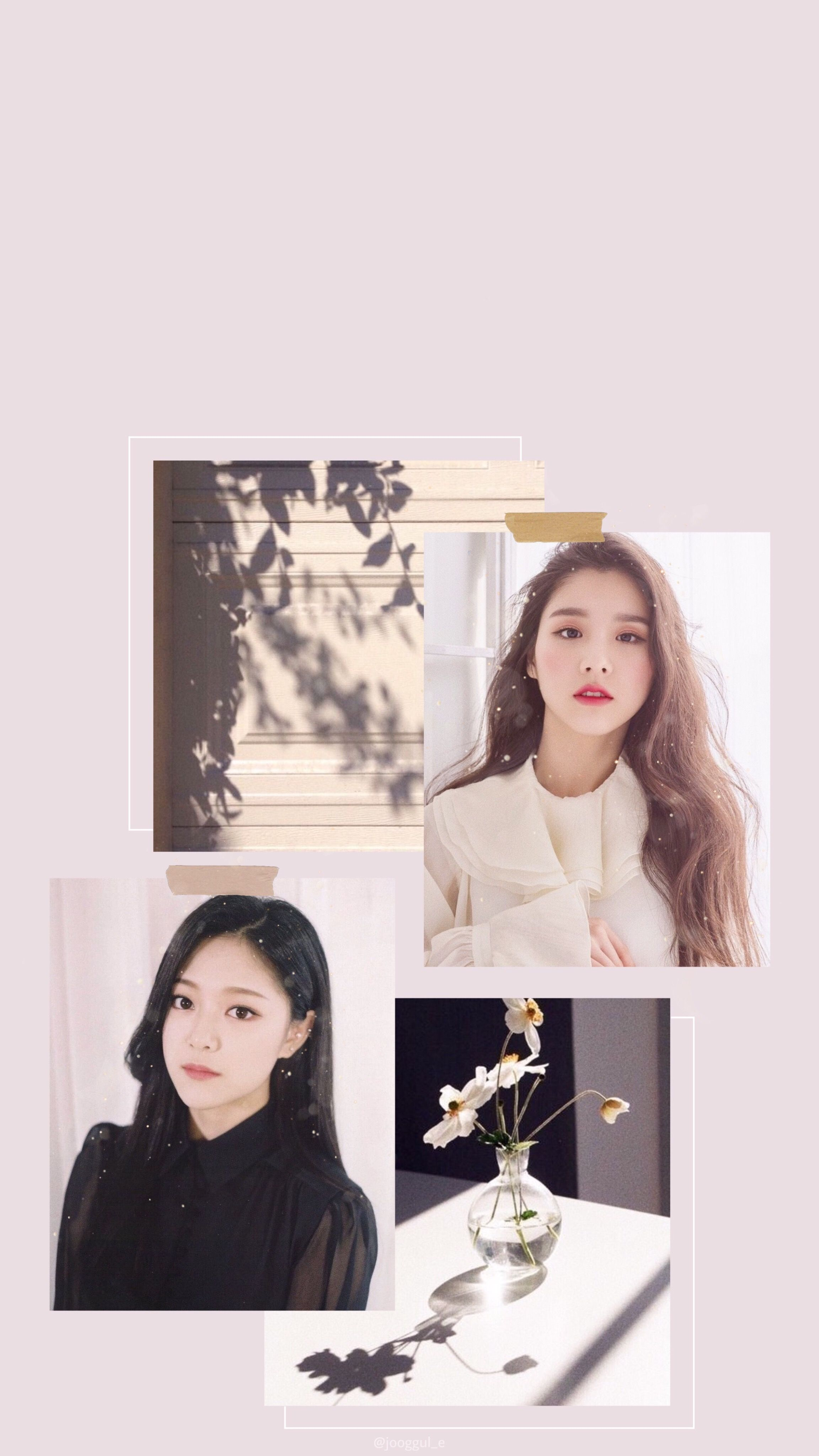 Loona Hyunjin Heejin Aesthetic Iphone Lockscreen