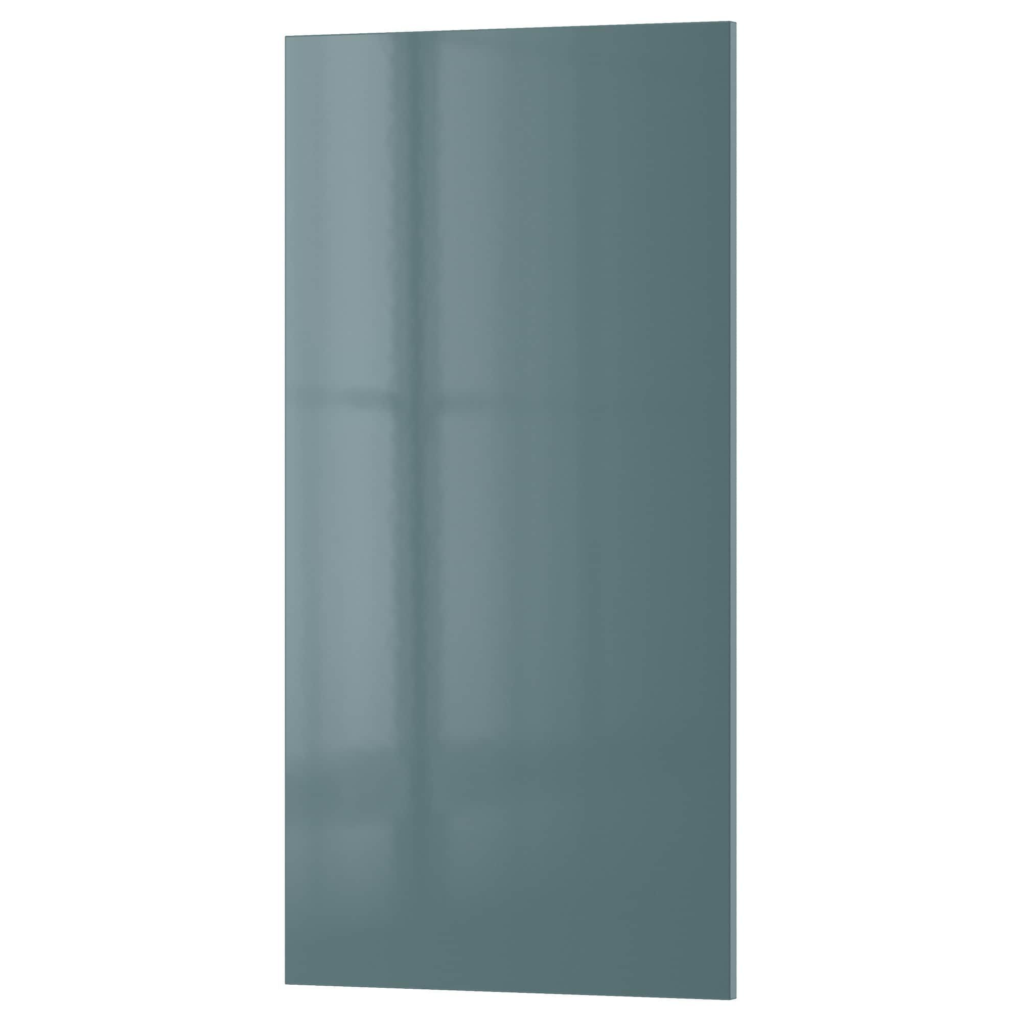 Best Kallarp Door High Gloss Gray Turquoise Ikea Tall 400 x 300