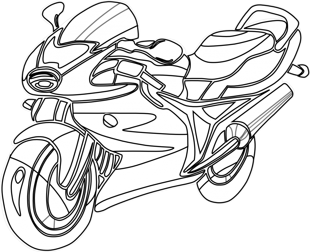 Free Printable Motorcycle Coloring Pages For Kids Coloring Pages For Kids Coloring Pages Coloring Pages To Print
