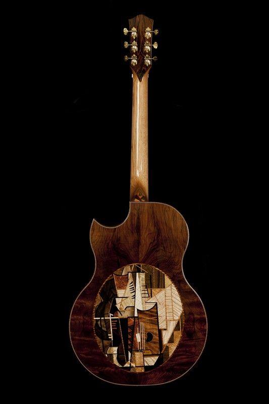 McPherson Custom Acoustic Guitar - Picasso