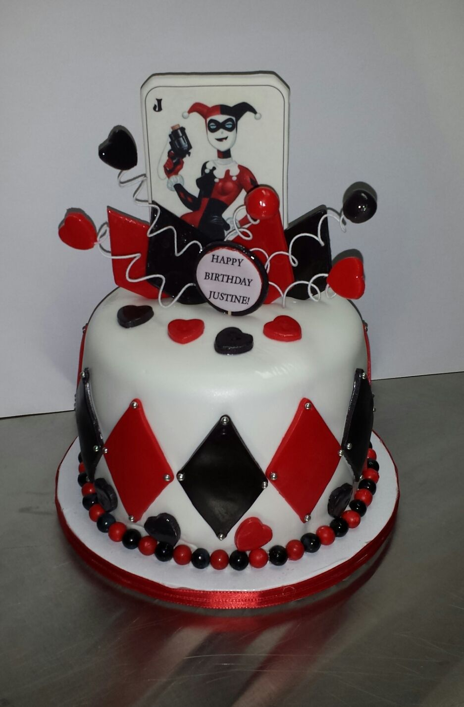 Harley Quinn Birthday Cake Haven T Made A Cake In A Bit