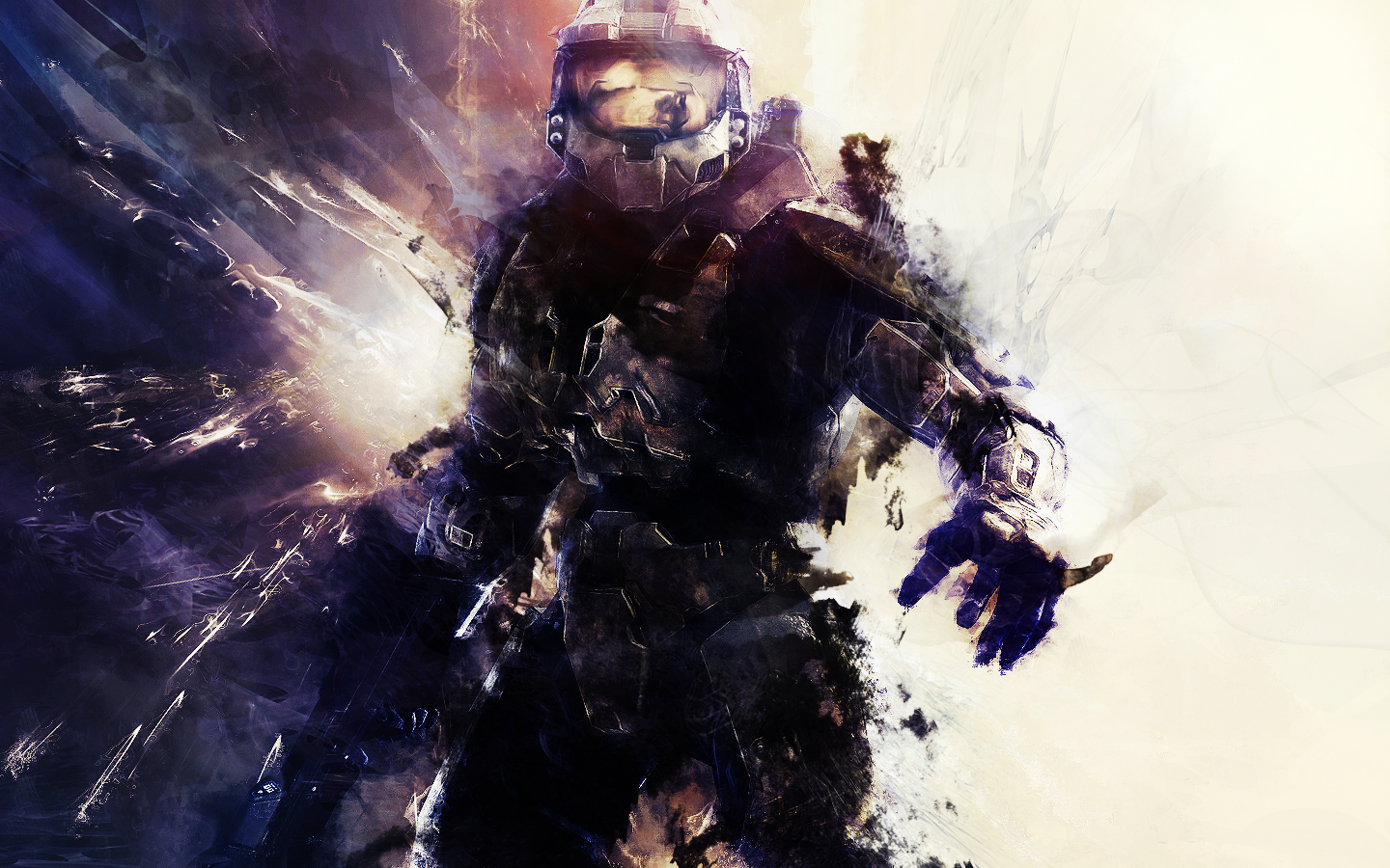 Master Chief Looking Awesome Halo Game Halo Master Chief Halo 4