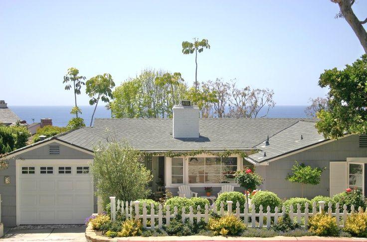 California beach cottage
