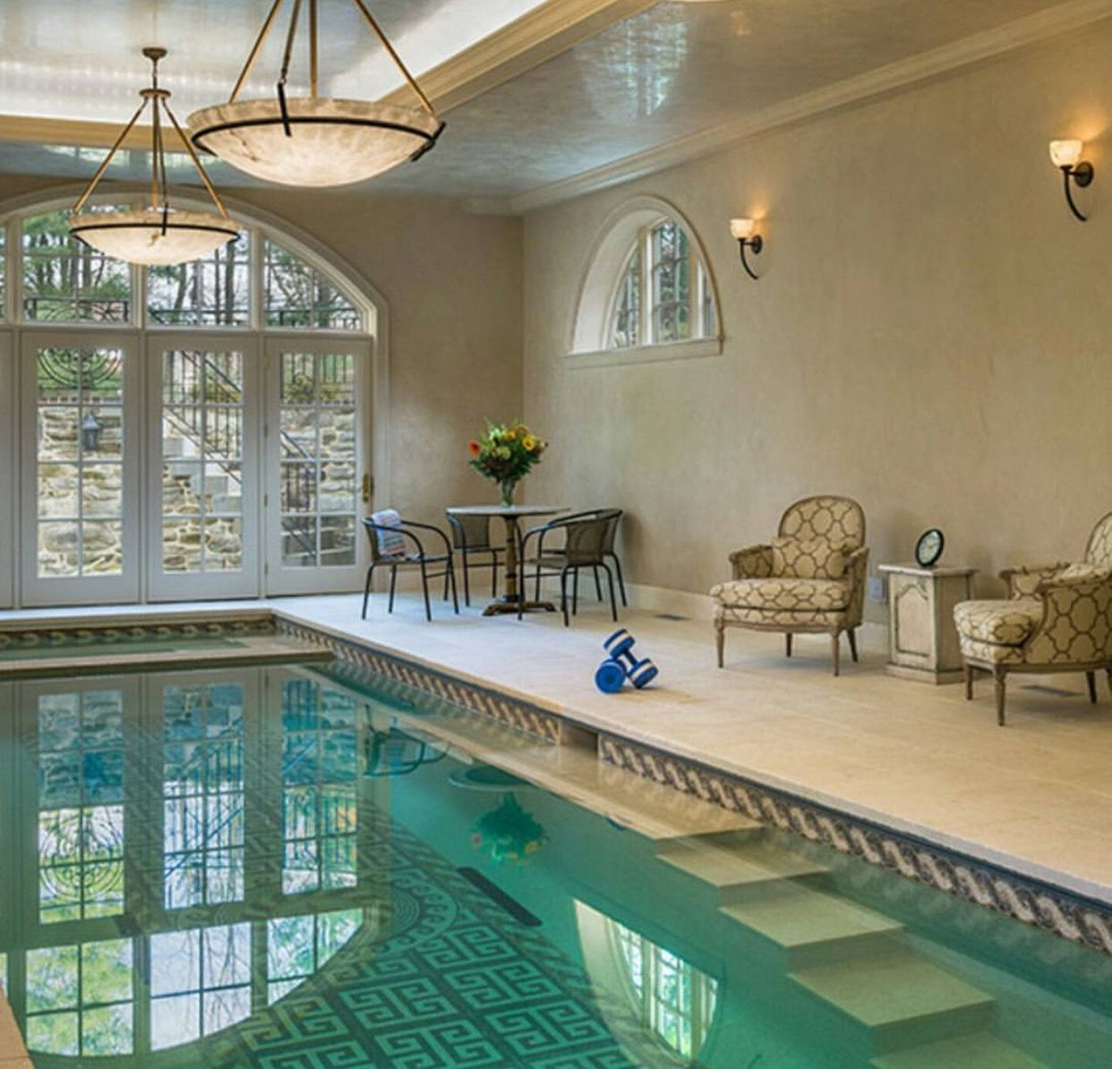 Luxury Pool House Interior: Pin On { Home }