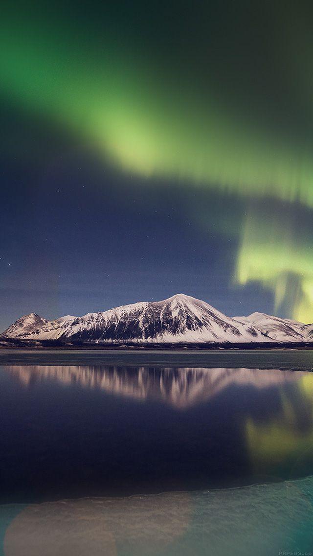 freeios8.com - ml93-aurora-night-sky-instagram-art-nature - http://goo.gl/zwLwFY - iPhone, iPad, iOS8, Parallax wallpapers
