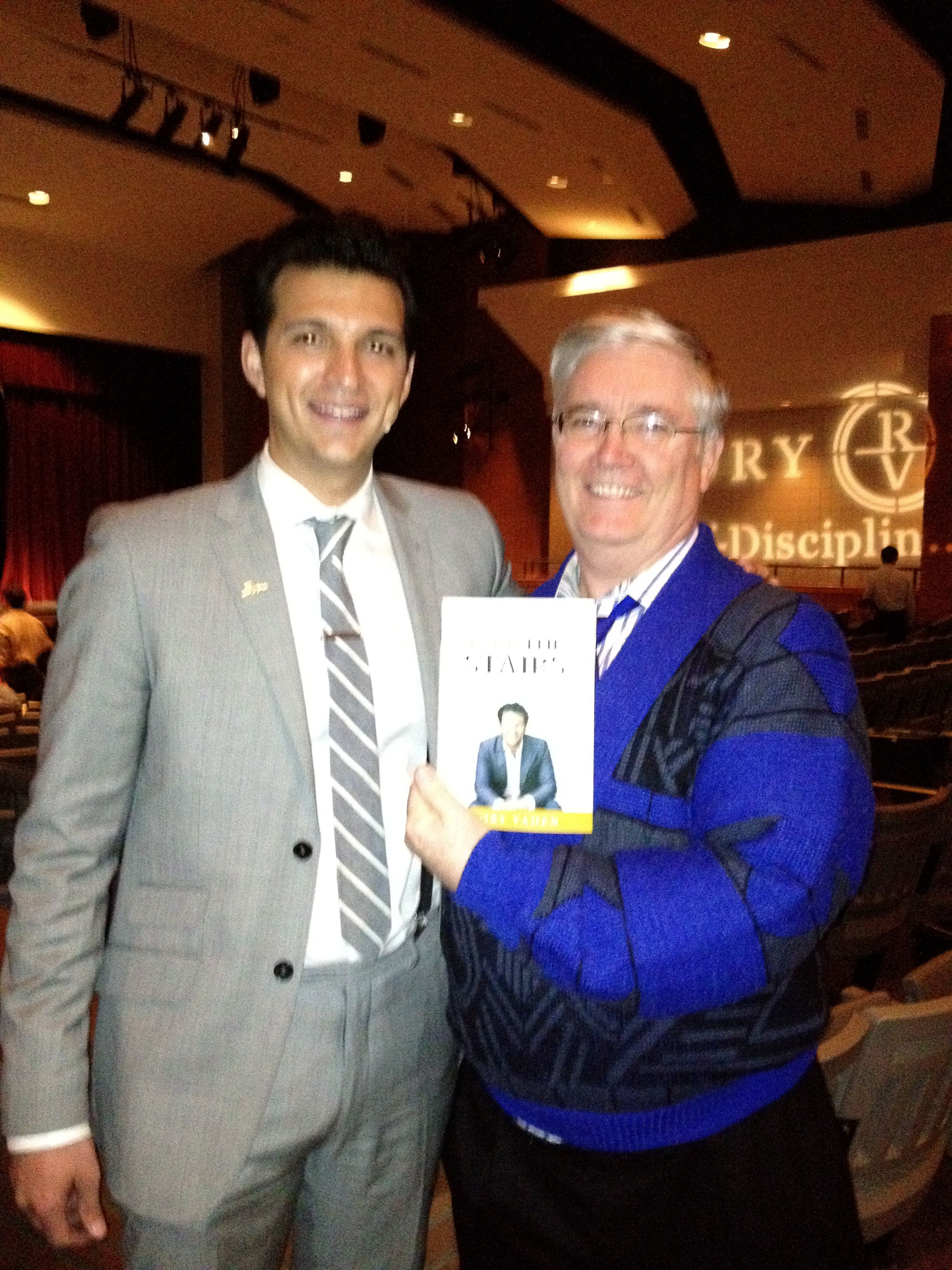 We hosted Rory Vaden on his Take The Stairs book tour here at ...