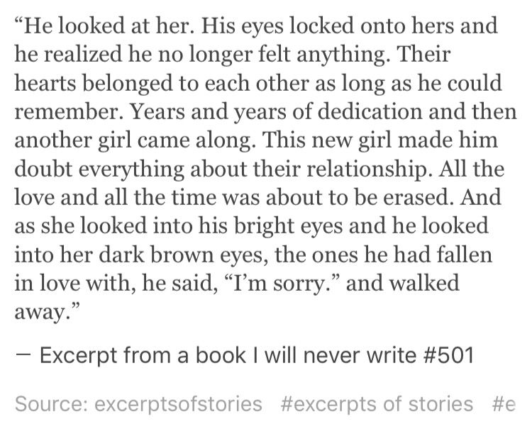 Excerpt From A Book I Will Never Write 501 Unforgettable Book