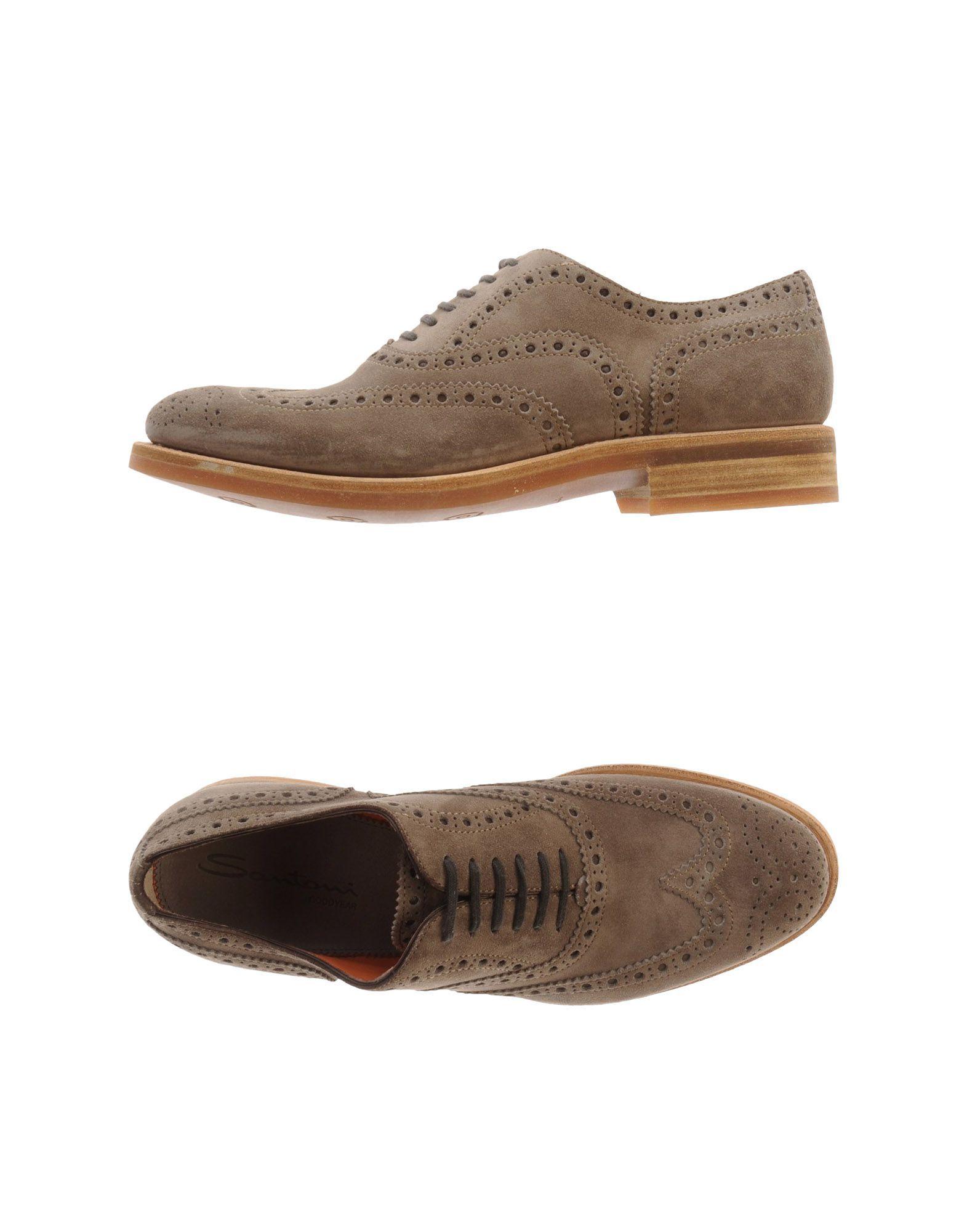 FOOTWEAR - Lace-up shoes Santoni WLhws3Q