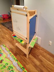 Tri-Side Learn & Play Art Center from Little Partners {Review}