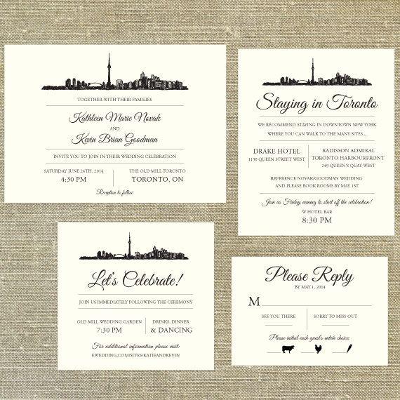 Toronto skyline destination wedding invitation by pixiechicago toronto skyline destination wedding invitation by pixiechicago 800 filmwisefo Choice Image