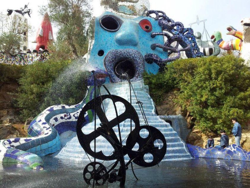 Il Giardino Dei Tarocchi Di Niki De Saint Phalle Tarocchi