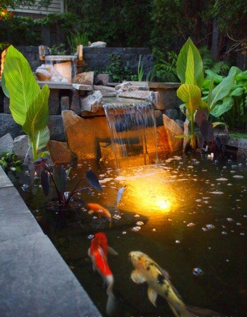 koi teich im garten anlegen - ein extra fürs asiatische ambiente, Garten und erstellen
