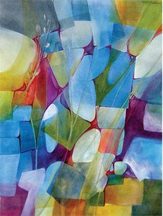 Creating A Backlit Watercolor Landscape Watercolor Landscape