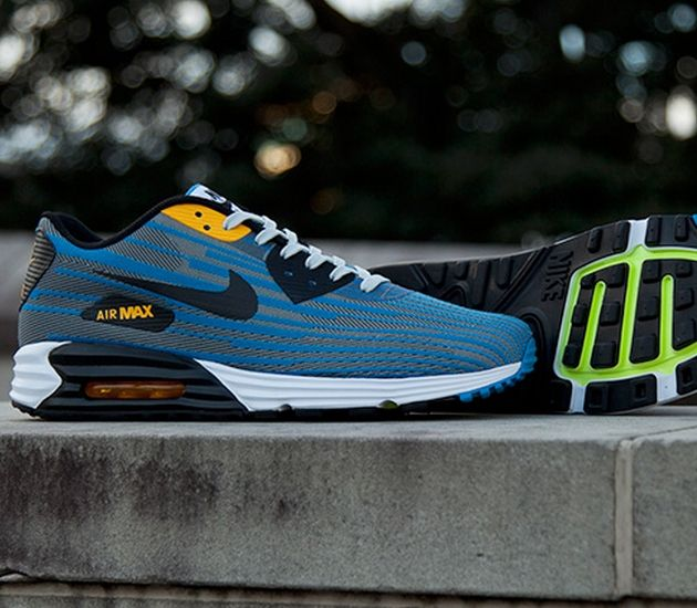 Nike Air Max Lunar 90 Jcrd Grey Black Blue