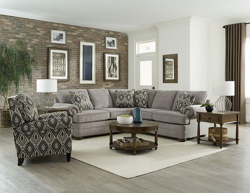 England Furniture Knox sectional  England furniture, Furniture, Home
