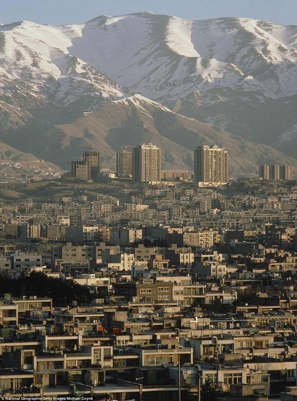 Iran before the revolution shows a stunning contrast | Daily Mail Online