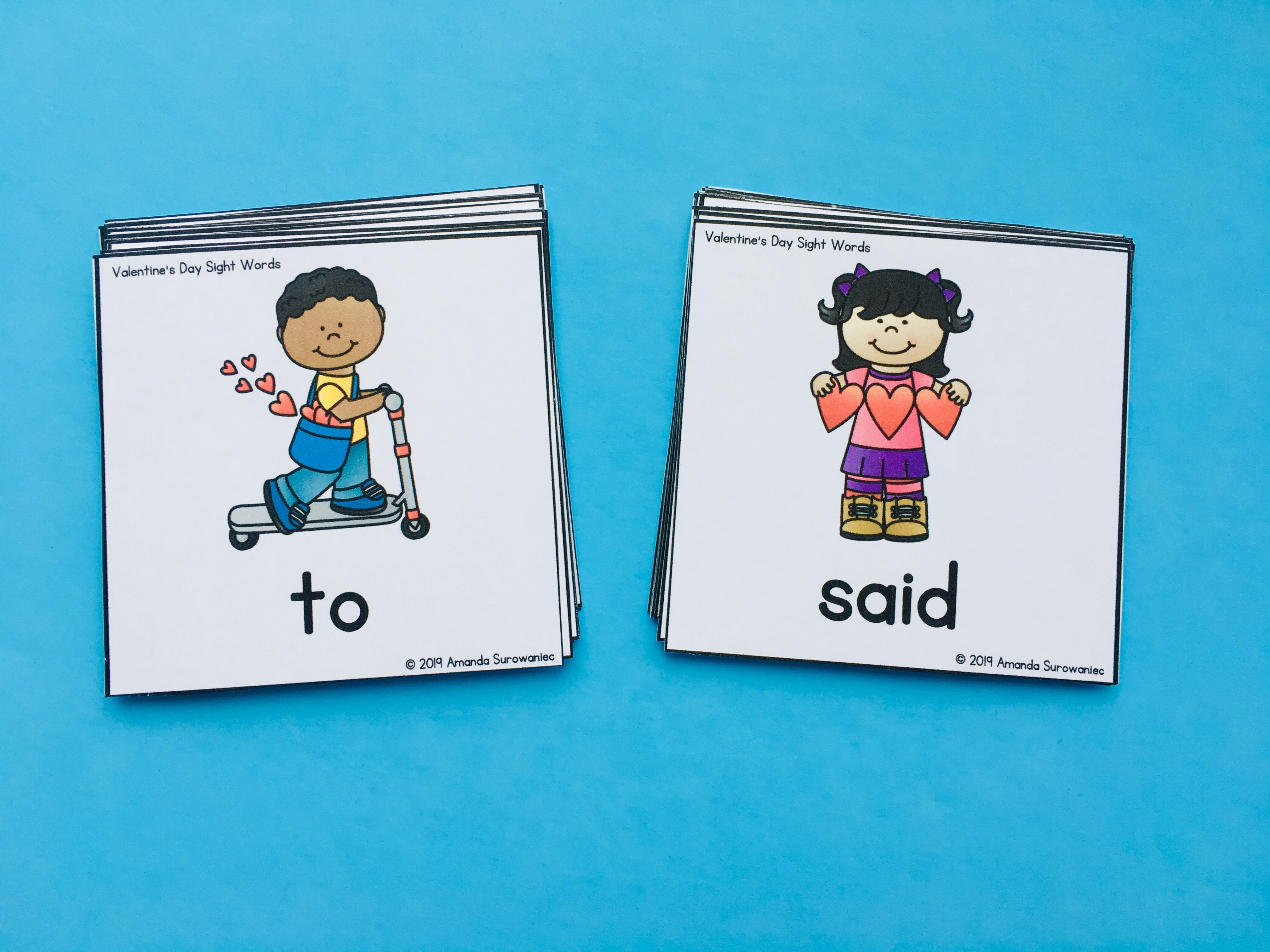 Editable Memory Sight Word Games 25 Themes For The Year